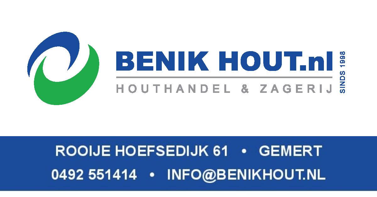 Nieuwe sponsor: BENIK Houthandel en Zagerij